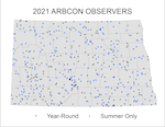 ARBCON Observer Locations